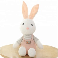 2019 OEM AND ODM ASTM Standard Soft Stuffed Plush Toy Rabbit