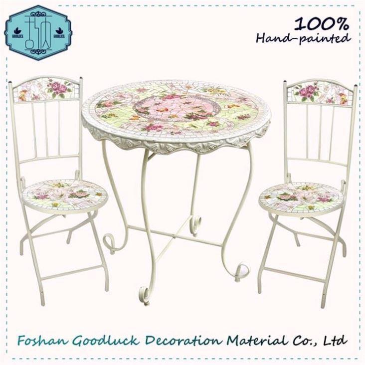 Venta al por mayor muebles de hierro forjado para jardin-Compre ...