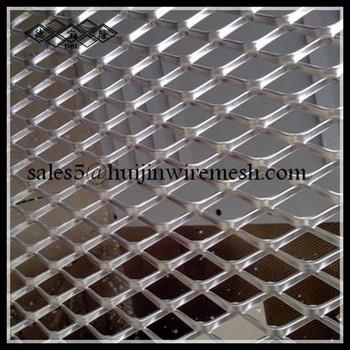 Decorative aluminum expanded metal mesh panels honeycomb decorative wire mesh decorative - Decorative wire mesh panels ...