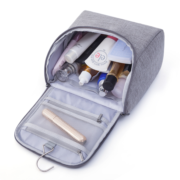 Toiletry Bag For Men Women Hanging Toiletries Kit For Makeup, <strong>Cosmetic</strong>, Shaving Bag