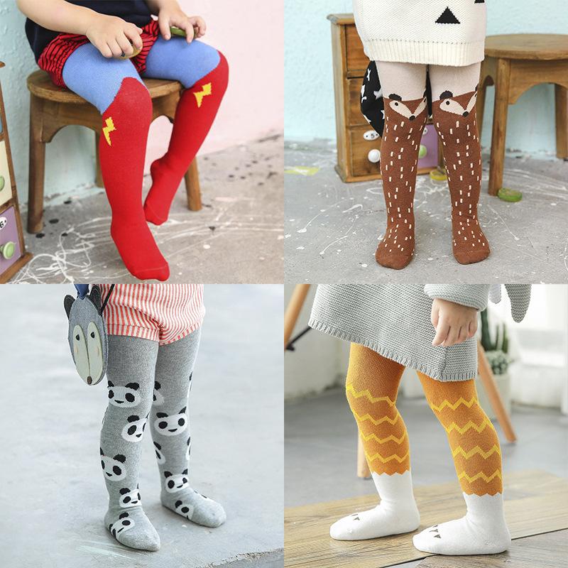 32e79b56300 SK1003 Children pantyhose wholesale Korean cartoon children socks