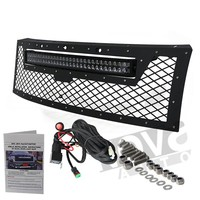 20inch 30inch 3D Optics Black Lens Auto Led Bar Lights For Jeep F ord GMC Dodge Toyota Ni ssan Chevy