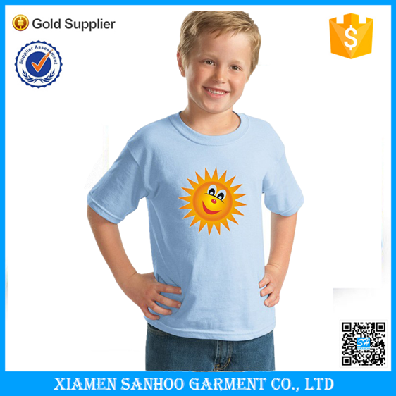 School Activity Custom Tshirt Best Selling Cute Design Popular Style Tshirt For Kids