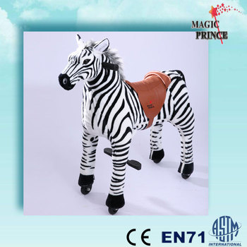 EN71,ASTM,CE,Dalian Export To Malayasia Animal Mechanical ride on Toys Malaysia, Mechanical Ride on animal toys pony, Zebra