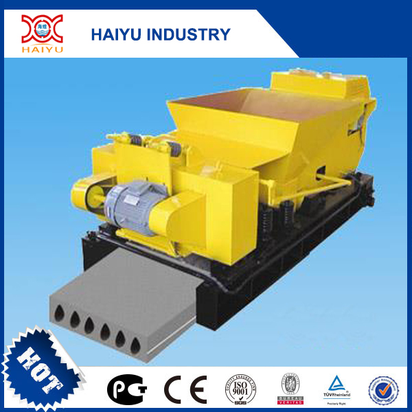 prestressed concrete floor slab forming machine for houses