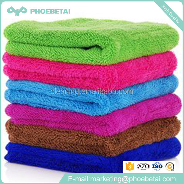 Kitchen rags cleaning with disposable microfiber waffle cloth in rolls