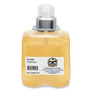 Genuine Joe Foam Soap Refill - Orange Blossom Scent - 42.3 fl oz (1250 mL) - Orange - 1 Each