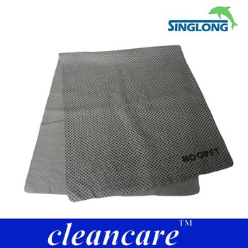 home textile friendly auto pva chamois cleaning cloth pva material fabric wipe without trace