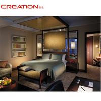 Environmental Friendly Lacquer Hotel Bedroom Furniture Set Liquidators