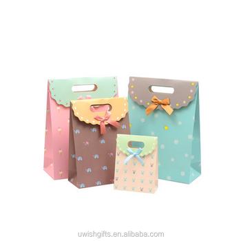 078e2b7783bf3 Оптовая продажа Индия дешевая цена на заказ небольшие бумажные мешки для  подарков