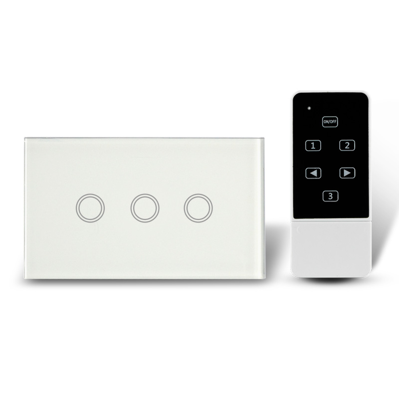 Sensitive Touch and long range remote control wall plate switch