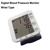Blood Pressure Monitor with LCD Digital Display Irregular Heartbeat Indicator Portable and Perfect for Home Use