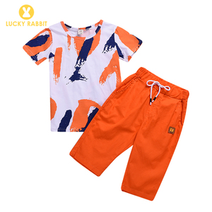 Children Clothing Manufacturers China Two Piece T-Shirt And Pants Clothing  Sets Boys Matching Clothes Summer Wear For Boys