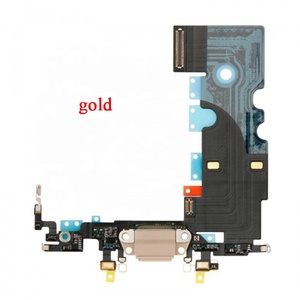 For iPhone 8 USB Dock Charging Port Flex Cable - Gold Black White