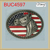 BUC4597 Promotion cheap custom selling american flag buckles for belts