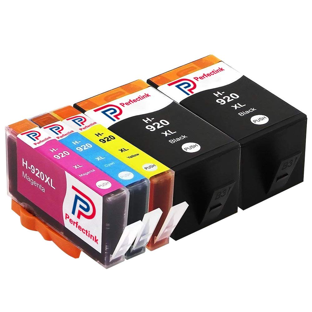 Get Quotations 920 Ink Cartridges Perfectink 920XL High Yield Compatible With Officejet 6500 6000 7000