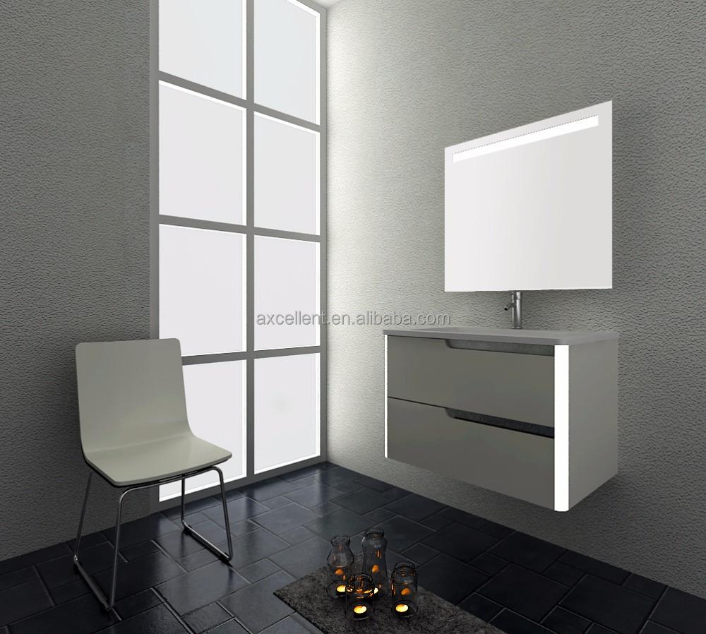 Free 3d Drawing Design,Double Sink Bathroom Vanity/ Mdf Door ...
