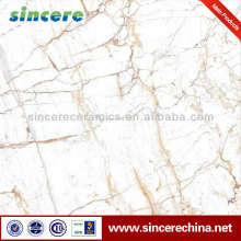 marble glazed porcelain high quality villa floor tile