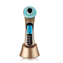 BP-0153S 3 Mhz ultrasonic Galvanic phototherapy bio vibration facial beauty เครื่องสิว anti wrinkle