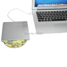 Super Slim USB 2.0 Slot-in Portable Optical COMBO Driver, Plug and Play