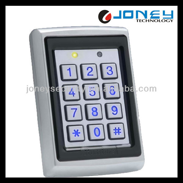 Bule Backlight RFID digital access control keypad