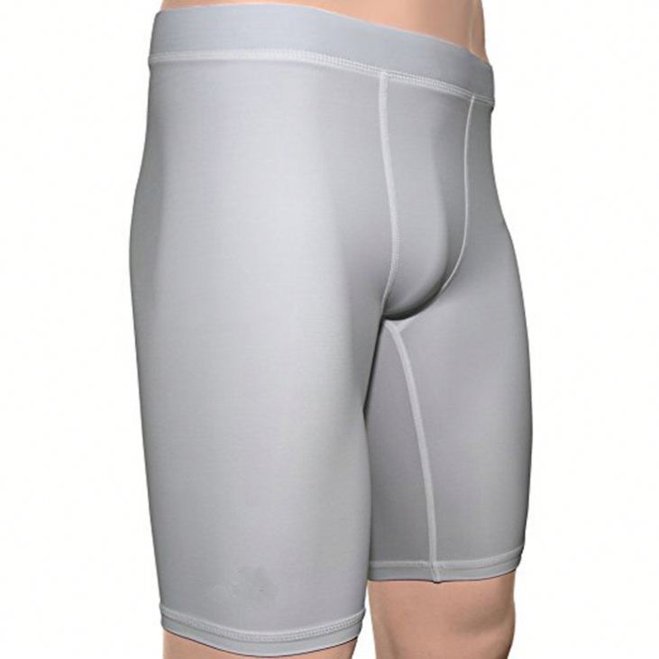 Custom Men's Fitness running compression shorts gym jogging shorts