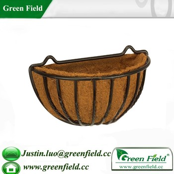 Attrayant Green Field Wholesale Garden Wall Hanging Plant Baskets
