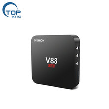 2018 RK3229 Quad Core RAM1GB ROM8GB WIFI Media Player <span class=keywords><strong>IPTV</strong></span> Set Top <span class=keywords><strong>BOX</strong></span> Intelligente V88 Android 7.1 TV <span class=keywords><strong>Box</strong></span>