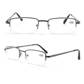 c8417a74ffe00 Mens new design optical reading glasses rimless reading glasses metal frame