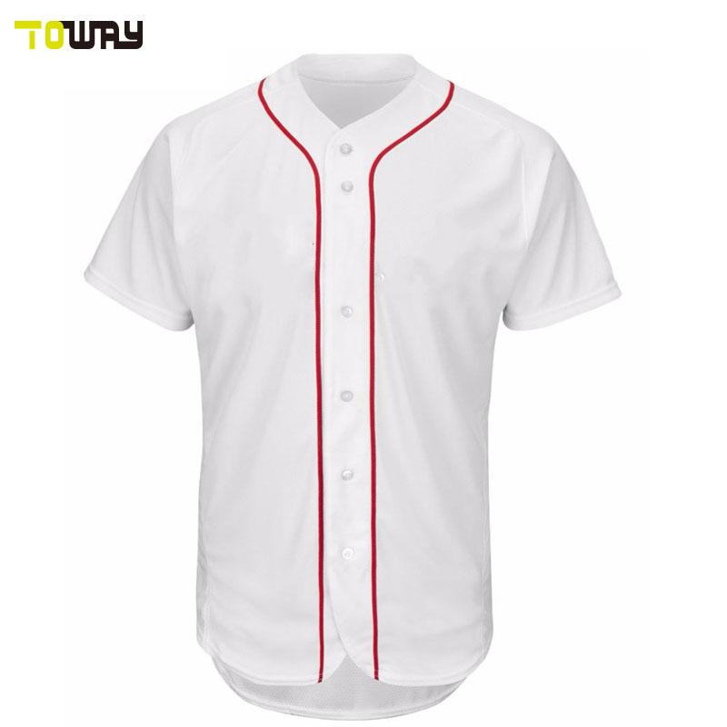 Blank Plain Wholesale Baseball Jerseys