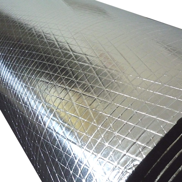 refrigeration parts hvac&r aluminium foil faced rubber foam thermal insulation for sale