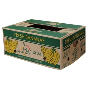 corrugated Fresh Pineapples packing box for Pineapples packaging
