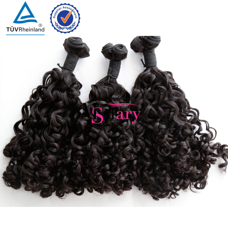 Double Drawn Romance Curly 100% virgin Raw Material Funmi Hair