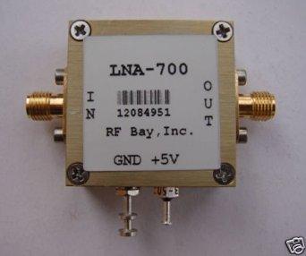 10-700MHz High IP3 LNA, NF=1.0dB, LNA-700, New, SMA