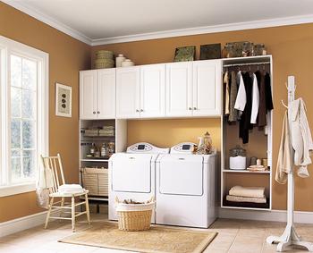 Keukenkast Wit Hoogglans : Wit hoogglans lak schilderen scullery kast wasserette kast