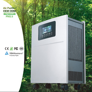 Home and office air purifier with high cadr,ionizer and hepa