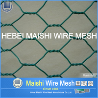 25BWG Hexagonal chicken wire mesh netting for poultry /rabbit fencing