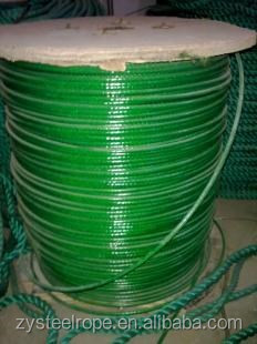 0.45,20-30g cable Hot dipped galvanized steel wire rope for Korea(manufacturer)