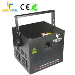 Factory wholesaler rgb DJ 5w Laser Light Show System For ILDA,DMX,PC controlled mode
