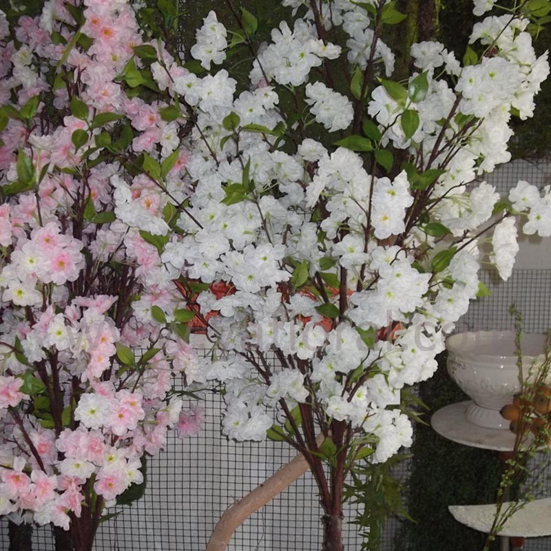 Beautiful artificial cherry blossom tree large outdoor artficial plant trees flowers cherry blossom