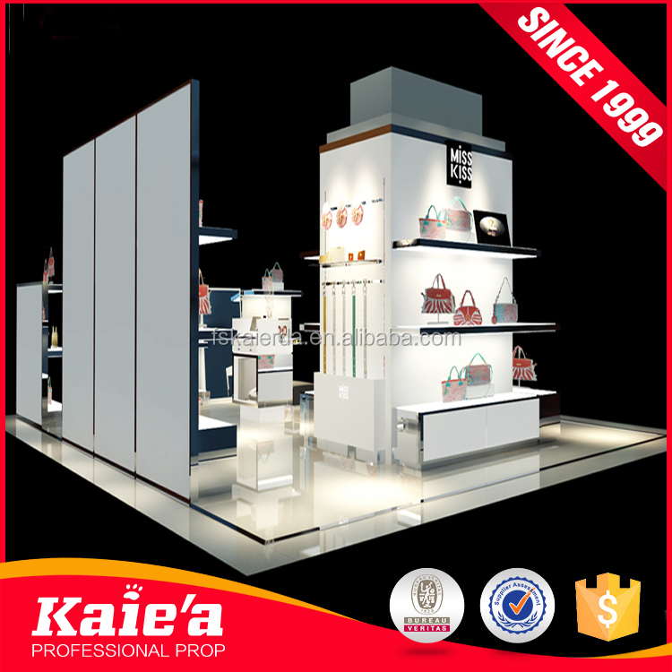 Shopping mall store layout design cosmetics retail displays stand