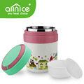 Allnice 1.5L /1.9L ACHR-01double wall stainless steel pp thermos flask with carrier