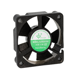 3510 dc 5 volt oil bearing compressor cooling high rpm 35mm axial fireproof electric fan for printer
