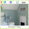 Eco-friendly odorless antibacterial interior wall emulsion paint