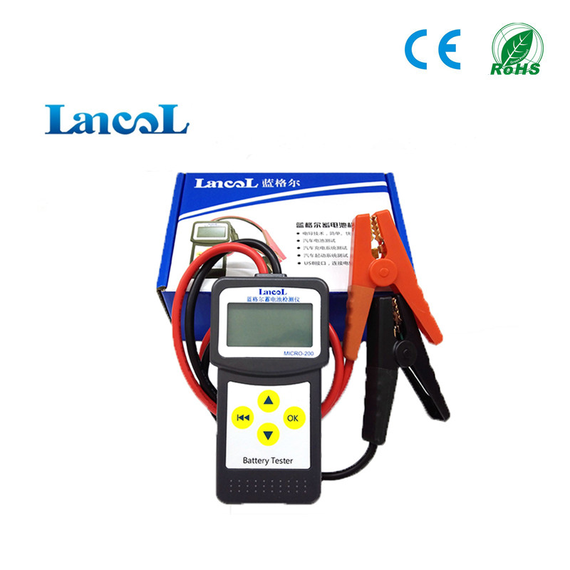 Car battery tester Micro-200 battery capacity tester Auto diagnostic tool