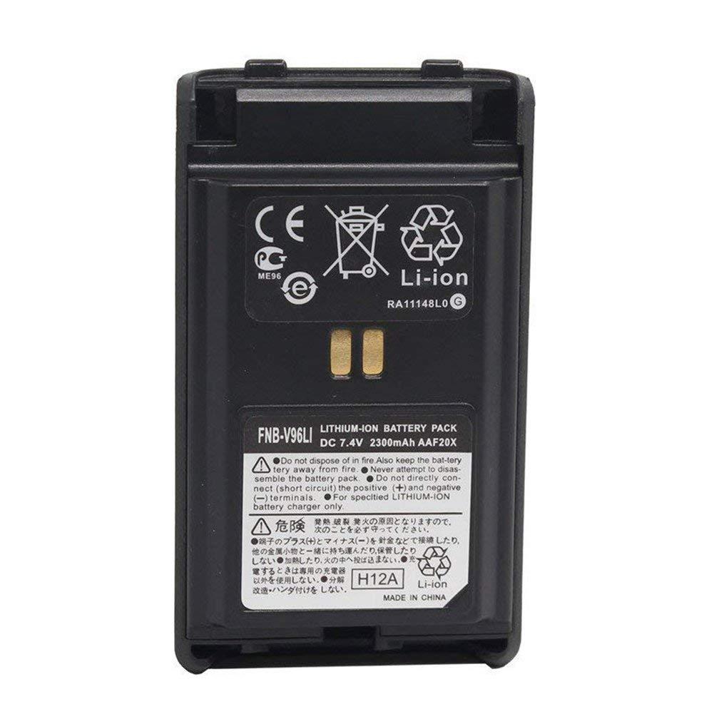 FNB-V95Li FNB-V96Li 2300mAh Li-ion Battery For Yaesu Vertex VX350 VX351 VX354
