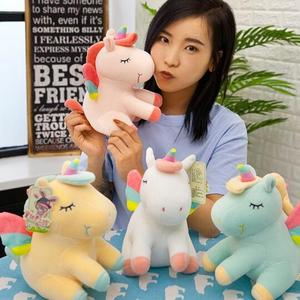 New High Quality Creative Design Horse Super Soft Cute Animal Plush Unicorn Stuffed Toy