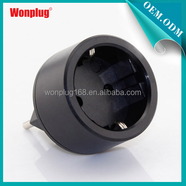 Wonplug 10A swiss power plug adapter german schuko elctronic converter