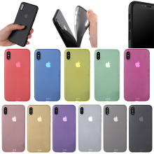 Hot Selling In Stock Ultra Thin Transparent 0.3mm PP case for iPhone X