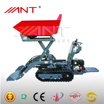 modern machinery in agriculture mini tractor with heaving mining hydraulic shovels